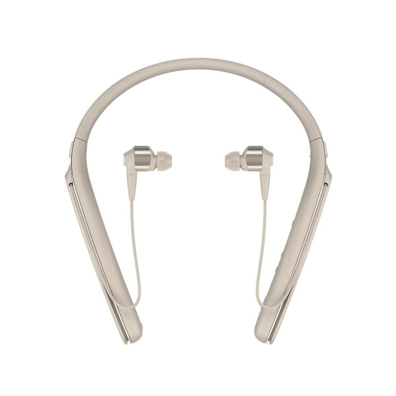 Sony Singapore WI-1000X Bluetooth Neckband Noise Cancelling In-Ear Headphone (Gold) Singapore