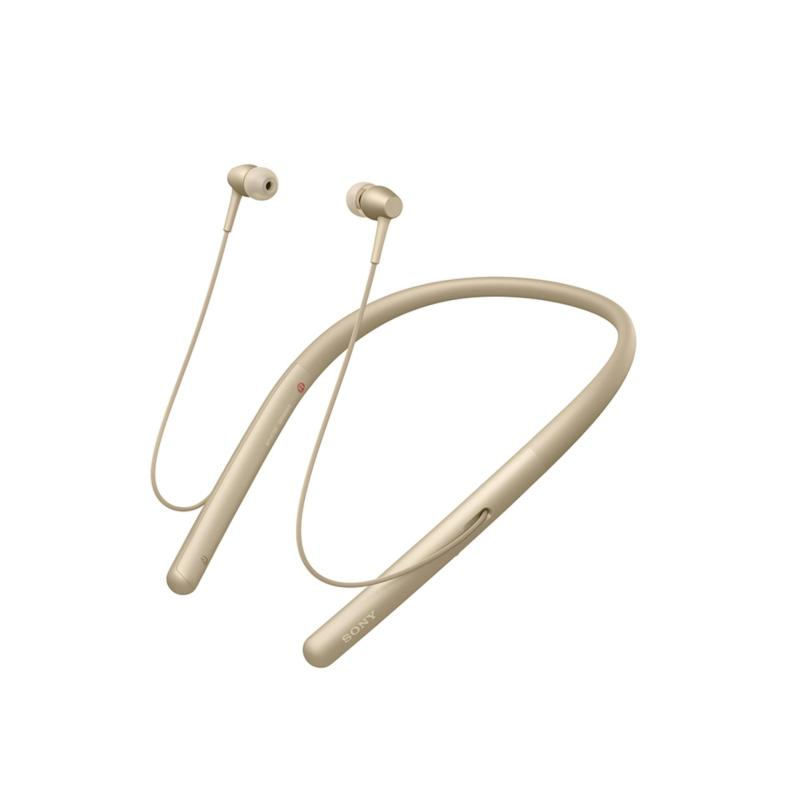 Sony Singapore WI-H700 In-Ear Neckband style Wireless Headphones (Gold) Singapore