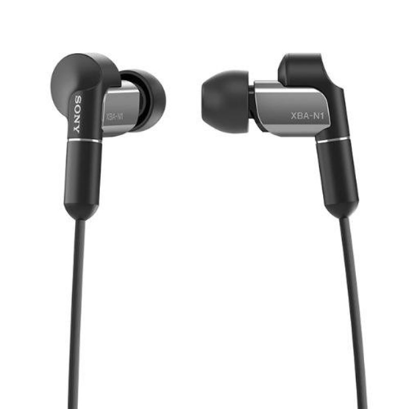 Sony Singapore XBA-N1AP Balanced Armature In-ear Headphones (Black) Singapore