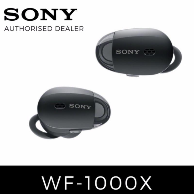 Sony WF-1000X Black Truly Wireless Earphones (Local Warranty) Singapore