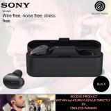 Best Offer Sony Wf 1000X Premium Noise Cancelling True Wireless Headphones Black Gold