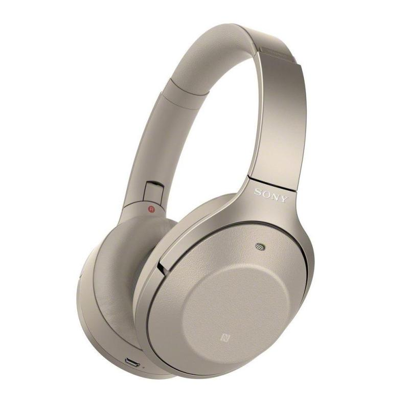Sony WH-1000XM2 Wireless Noise-Canceling Headphones - [Gold] Singapore