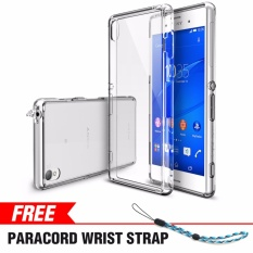 Shop For Sony Xperia Z3 Case Ringke Fusion Crystal Clear Minimalist Transparent Pc Back Tpu Bumper Drop Protection Scratch Resistant Protective Cover For Xperia Z3 Intl
