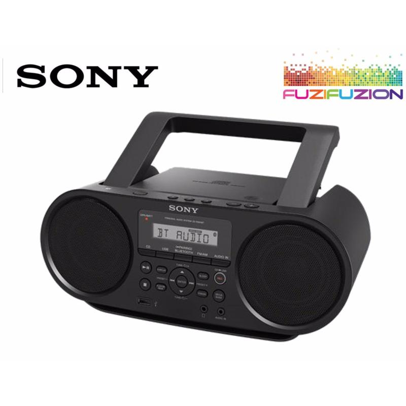 Sony ZS-RS60BT CD Boombox with Bluetooth Singapore