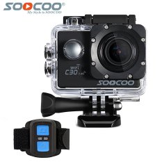 How To Buy Soocoo Official C30R Sports Camera Wifi 4K Gyro Adjustable Viewing Angles 70 170 Degrees Ntk96660 With Remote Control