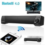 Retail Sound Bar Bluetooth Wireless Speaker Home Theater Built In Subwoofer Aux Usb Black Intl