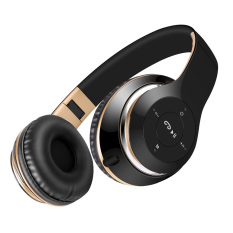 Lowest Price Sound Intone Bt 09 Bluetooth Wireless Stereo Headset With Tf Card Fm Radio Microphone Bass Mobile Phone Mp3 Player Headphones Black Gold Intl