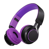 Sound Intone Hd30 Purple Headphones Stereo Headset Export Sound Intone Discount