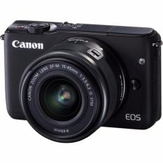 Special Price Canon Eos M10 Kit Ef M 15 45Mm F3 5 6 3 Is Stm Black 2 X 16Gb Sd Card Online