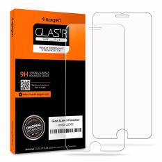 Spigen iPhone 8 Plus / 7 Plus, iPhone 8 / 7 Tempered Glass Screen Protector (2-Pack)