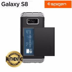 Price Comparisons Of Spigen Premium Case For Samsung Galaxy S8 Crystal Wallet 3 Color Intl