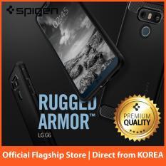 Sale Spigen Rugged Armor Case For Lg G6 Black