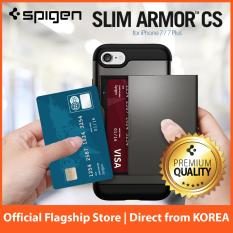 Sale Spigen Slim Armor Cs Series Case For Iphone 8 Plus 7 Plus Gunmetal Spigen Wholesaler