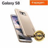 Review Spigen Thin Fit Gold Maple Protection Case For Samsung Galaxy S8 Intl Spigen On South Korea