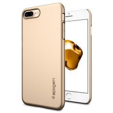 Discounted Spigen Iphone 8 Plus 7 Plus Case Thin Fit Champagne Gold
