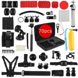 How To Buy Sport Accessories 70 In 1 Accessory Kit Bundle For Gopro Hero 2 3 4 5 Camera Intl
