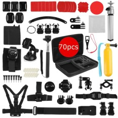 Sport Accessories 70 In 1 Accessory Kit Bundle For Gopro Hero 2 3 4 5 Camera Intl For Sale