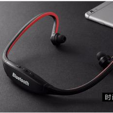 Recent Sports Bluetooth 3 Handfree Stereo Headset Headphone For Cellphone Pc Black Black Intl
