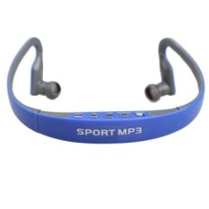 Sports Mp3 Player Earhook Earphone Headset With Fm Tf Card Slotblue Intl In Stock