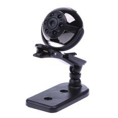 Sq9 1080p Mini Camera 360 Degree Rotation Clip Spy Infrared Night Hidden - Intl(black 32gb) By Sportschannel.