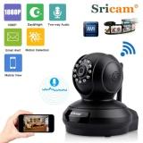 Sale Sricam 1080P Wireless Hd 2 0Mp Wlan H 264 Security Cctv Pan Tile Wifi Baby Monitor Ip Camera Black Us Intl Sricam Wholesaler