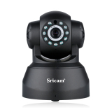Discount Sricam Sp012 Wireless Ip Camera 720P Megapixel H 264 Pt Onvif Cctv Security White Eu Plug Black
