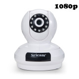 Review Sricam Sp019 1080P Ip Camera Wireless Wifi Indoor Surveillance Camera Ptz Night Vision 2 Way Audio Support Tf Card China