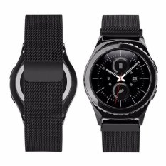 Coupon Stainless Steel Mesh Milanese Magnetic Loop Wrist Band Bracelet Strap For Samsung Galaxy Gear S3 Classic Sm R770 S3 Frontier Sm R760 Sm R765 Smart Watch Intl