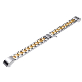 Stainless Steel Replacement Band Strap With Fold Over Clasp For Fitbit Alta Smart Bracelet Silver Gold Cheap