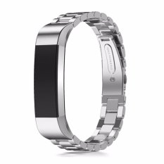 Purchase Stainless Steel Wrist Strap Replacement Watch Band Bracelet For Fitbit Alta Hr Intl Online