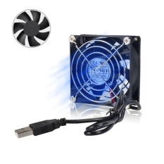 StarPlay USB 80mm Fan Silent USB Powered Computer Fan 8cm Fan Cooler for TV Box Router Mini PC 8025 UFAN8 - intl