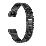 Sale Steel Bead Style Bracelet Smart Watch Band Strap For Fitbit Charge 2 2016 Bk Intl Viviroom Wholesaler