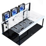 Buy Steel Crypto Coin Open Air Mining Frame Rig Case Up To 6 Gpu S Eth Btc Ethereum Intl