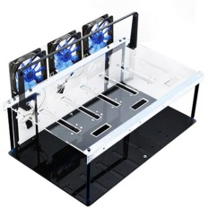 Price Comparisons Of Steel Crypto Coin Open Air Mining Frame Rig Case Up To 6 Gpu S Eth Btc Ethereum Intl