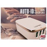 Buy Rc Global 3 Usb Port Sg Wall Plug Ac Universal Smart Charger 多功能Usb冲电组合 Ldnio A 3304)