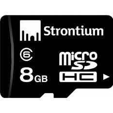 Buy Strontium Class 6 Microsd Card 8Gb On Singapore