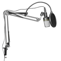Studio Microphone Stand With Suspension Boom Scissor Arm Mic Holder - Intl By Junlang.