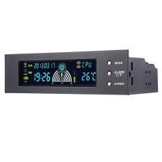 Price Compare Stw 5023 5 25 Inch Drive Bay Fan Speed Temperature Controller Support Alarm Function