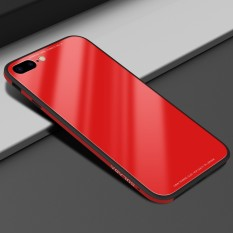 Sulada 9H Hard Glass Back Protector Case For Iphone 7 Plus Soft Silicone Metal Aluminium Bumper Phone Cases Cover For Iphone7 Plus Intl Discount Code