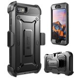 Who Sells Supcase Full Body Rugged Holster Case With Built In Screen Protector For Apple Iphone 7 2016 Iphone 8 2017 Black Cheap