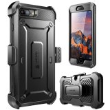 Supcase Unicorn Beetle Pro Series Full Body Rugged Holster Case With Built In Screen Protector For Apple Iphone 7 Plus 2016 Iphone 8 Plus 2017 Black Best Price