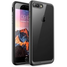 Sale Supcase Unicorn Beetle Style Premium Hybrid Protective Clear Bumper Case Scratch Resistant For Apple Iphone 7 Plus 2016 Iphone 8 Plus 2017 Black Supcase