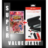 New Super Bundle Deal Nintendo Switch Super Street Fighter Ii Game Snakebyte Switch Starter Kit Pro