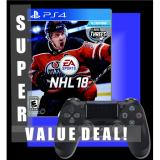 Top Rated Super Value Deal Sony Ps4 Nhl 18 Ps4 Black Controller Dual Pack Games Playstation Console