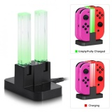 Best Offer Sweatbuy 4 In 1 Usb Charging Dock Station Stand Charger For Nintendo Switch Joy Con With Led Indication Intl