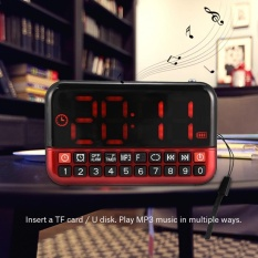 How To Buy Sweatbuy Fm Radio Music Player Audio Speaker Led Display Support Alarm Clock Timed Shutdown Tf Card Usb Intl
