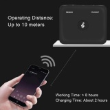 Sale Sweatbuy Portable 2 In 1 Bluetooth Transmitter Receiver 3 5Mm Wireless Stereo Audio Adapter Black Intl Oem Online