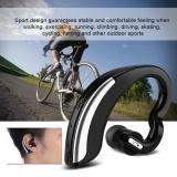 Sale Sweatbuy Portable Bluetooth 4 Wireless Earphone Headphone Ear Hook Stereo Sport Headset Black Intl