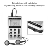 Sweatbuy Portable Mini Fm Am Digital Signal Processing Wireless Receiver Radio With Earphone Intl Best Price
