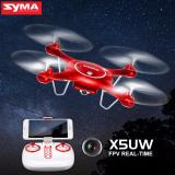 Latest Syma X5Uw Wifi Fpv 720P Hd Camera Quadcopter Drone With Flight Plan Route App Control And Altitude Hold Function Red Local Fulfillment 2017 Latest Version